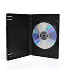 DVD case single black