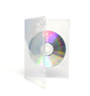 DVDcase clear double side slick