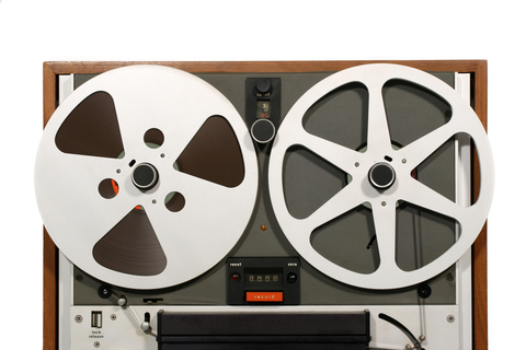 http://www.dreamstime.com/stock-images-open-reel-tape-deck-close-image16207224